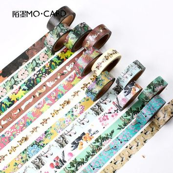 15mm*7m Vintage Chinese Style Washi Tape Japansese Stationery Cute Masking Tape DIY Scrapbooking Sticker Diary Paper Label