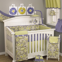 Cotton Tale Periwinkle Crib Bedding