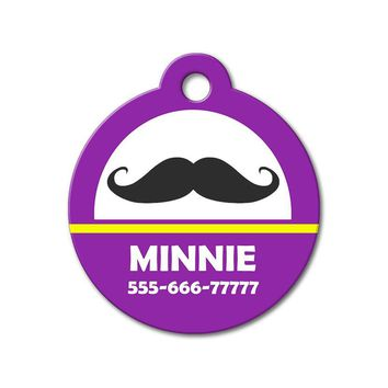 Mustache - Cute Pet Tag