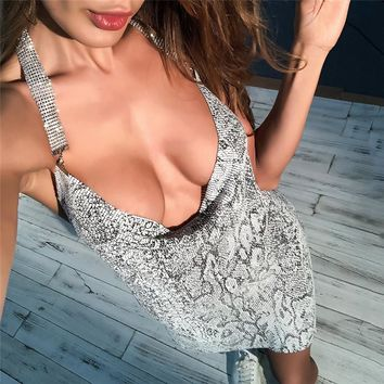 Print Sexy Women's Fashion Club Split One Piece Dress [471485612073]