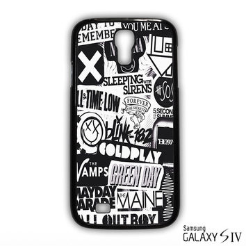 The XX Coldplay Arctic Monkey for phone case Samsung Galaxy S3,S4,S5,S6,S6 Edge,S6 Edge Plus phone case