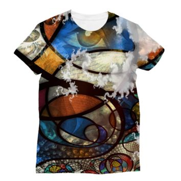 Misty Seamless Eyes Subli Sublimation T-Shirt