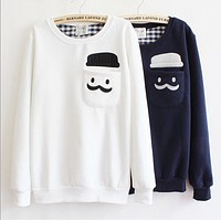 Lovely round neck sweater