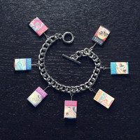 Harry Potter Book Toggle Charm Bracelet