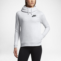 The Nike Sportswear Rally Funnel Neck Women's Sweatshirt.