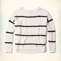 Girls Stripe Pullover Sweater | Girls New Arrivals | HollisterCo.com