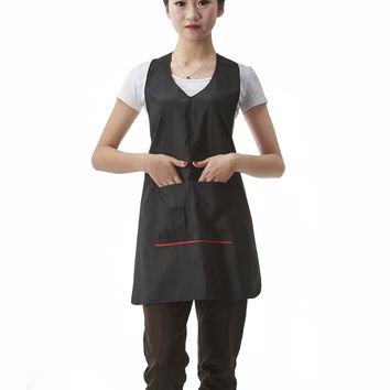 Salon Professional Barber Hair-cutting Apron, Colorfulife Adult Hair Coloring Styling Aprons with Pocket Beauty Hairdresser Stylist Working Clothes Hairdressing Wrap...