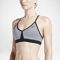 The Nike Pro Indy Color-Block Women's Sports Bra.