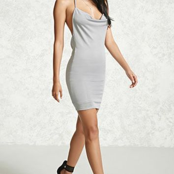 Contemporary Halter Dress