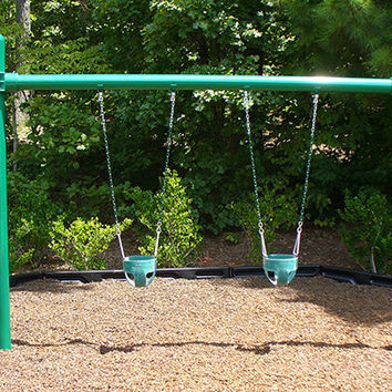 Planet Playgrounds Free Standing 2 Position Metal Swing Bay