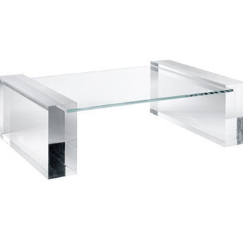 "Acrylic Cocktail Table Base "" Zagreb """