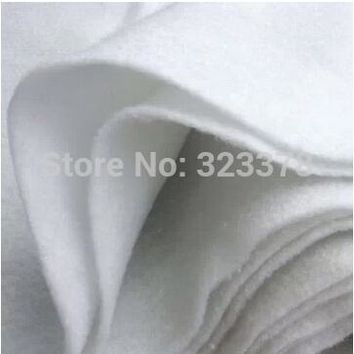 150*100cm/pc,2pcs/lot 100% Thin Cotton Fabric Batting Filler Patchwork Quilting DIY Projects Bag Lining/Interlining without glue