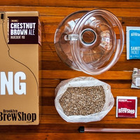 Beer Making Kit from Brooklyn Brew Shop - Chestnut Brown Ale