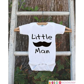 Mustache Onepiece - Little Man Bodysuit - Going Home Outfit - Little Man Mustache Bodysuit - Coming Home Outfit - Newborn Hospital Outfit