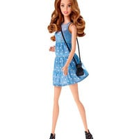 Barbie Fashionistas Doll Denim Dress