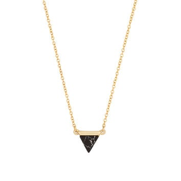 Onyx Delta Necklace