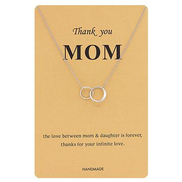 Mother's Day Love Appreciation Daughters Necklace