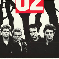 U2 Unforgettable Fire Tour Hamburg 1984 Poster 20x28