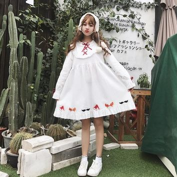Japanese Lolita Ruffles Dress