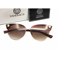 Versace Women Casual Popular Summer Sun Shades Eyeglasses Glasses Sunglasses [2974244588]