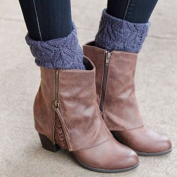 Not Rated Summer Bootie - Taupe