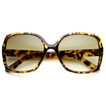 Womens Designer Inspired Square Frame Sunglasses 8951