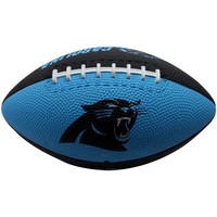 Carolina Panthers Youth Sized Hail Mary Rubber Football - Panther Blue/Black