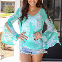 Sun Kissed Top - Mint