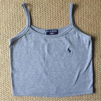 Ralph Lauren Polo Crop Top