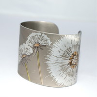 Dandelion wishes cuff