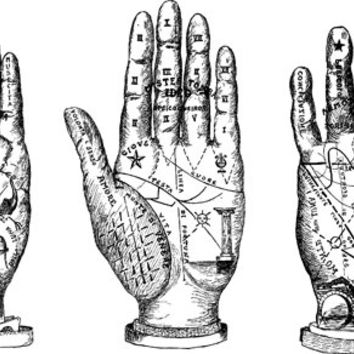 Palm reading hands png clip art Digital stamp Image Download coloring page line art astrology fortune telling
