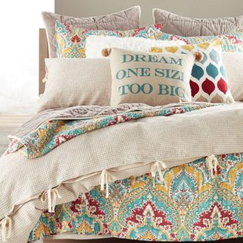 Nordstrom at Home 'Washed Waffle' Duvet & Levtex 'Bragga' Quilt Bedding Collection | Nordstrom