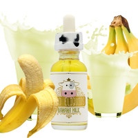 Banana Milk - Moo E Liquid