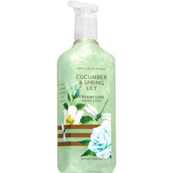 CUCUMBER & SPRING LILYCreamy Luxe Hand Soap