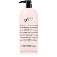 Jumbo Amazing Grace Perfumed Shampoo, Shower Gel And Bubble Bath