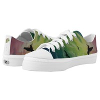 Heaven Of Birds Printed Shoes