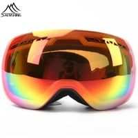 SAENSHING professional snowboard Goggles Men Unisex Double lens Motocross Ski Goggles Winter Outdoor Anti-fog Snow ski Eyewear
