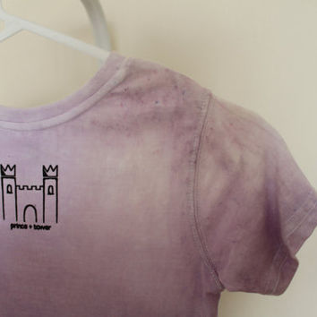 Violet Ombre Child T Shirt by PrinceandTower on Etsy