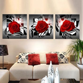 Rose Wall Art Painting Best Gifts Products