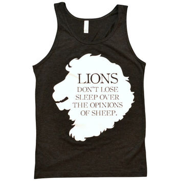 Lions Don't Lose Sleep Tank Top