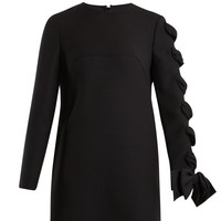 Round-neck wool-cady dress | Valentino | MATCHESFASHION.COM UK