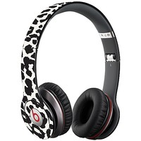 Black and White Leopard Skin  for the Beats Solo HD by skinzy.com