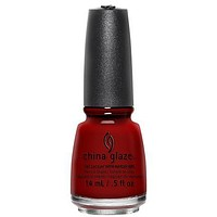 China Glaze - China Rouge 0.5 oz - #77011