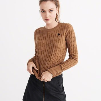 CABLE MOOSE SWEATER