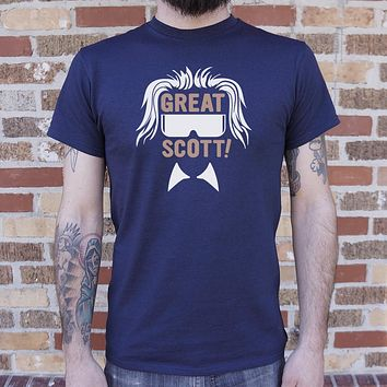 Great Scott! [Back to the Future Inspired] Men's T-Shirt