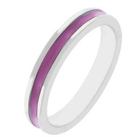 Fun For Eternity Ring In Fuchsia (size: 05)