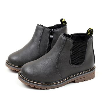 Kids Handmade Leather Boots
