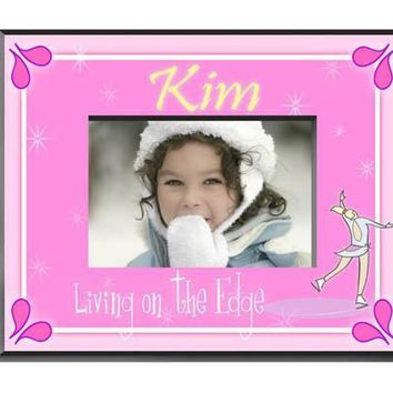 Personalized  Children's Frames - Ice Skater