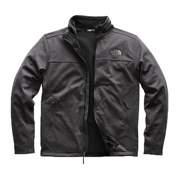 Men's Apex Canyonwall Jacket in TNF Dark Grey Heather by The North Face