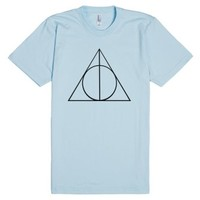 Harry Potter-Unisex Light Blue T-Shirt